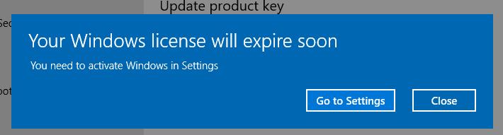 Napraw Twój Windows Licencja Wkrótce Wygaśnie Windows