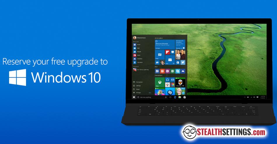 31d8e84f2 Slik oppgraderer du fra Windows 7, 8, Windows 8.1 til Windows 10 ...